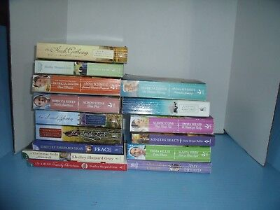 Lot Of 15 Amish Inspirational Romance*a Christmas Bride In Pinecraft*peace