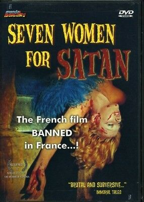 Seven Women For Satan New Dvd