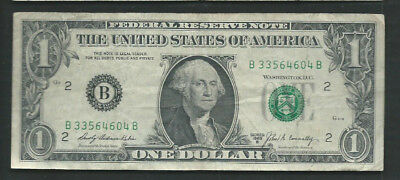 United States (USA) 1969 1 Dollar P 449c Circulated