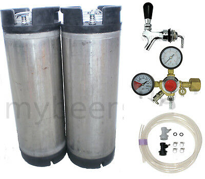 Basic Ball Lock Kegging Kit Entry Regulator Home Brew Beer Keg Cornelius System