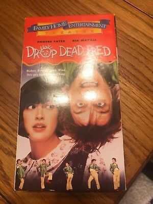 Rare DROP DEAD FRED OOP VHS Phoebe Cates Ships N 24h