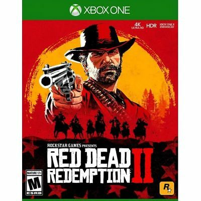 Red Dead Redemption 2 Xbox One  -  Xbox One exclusive - ESRB Rated M - Action/Ad