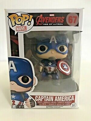 Funko Pop Vinyl Marvel Avengers 2 Age Of Ultron Captain America #67