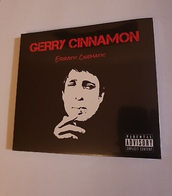 Gerry Cinnamon - Erratic Cinematic CD - New & Sealed