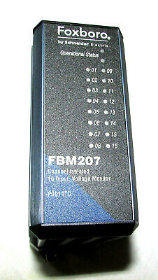 Foxboro FBM207 Channel Isolated Module, 16 Input Voltage Monitor