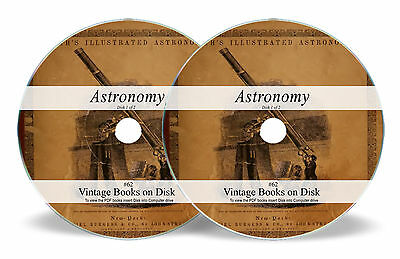 Rare Books on DVD - Astronomy Cosmology Astrophysics Planets Stars Telescope 62