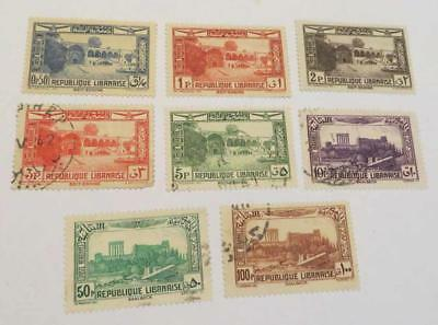 Lebanon 1937 Air part set most used