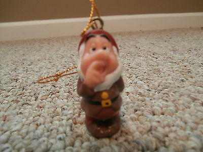 Disney Dwarf Sneezy Christmas Ornament From Snow White and the Seven Dwarfs