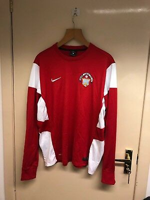 Greenock Morton Nike L/s Shirt Large Scotland