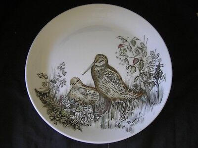 Johnson Brothers WOODCOCK Game Birds Dinner Plate