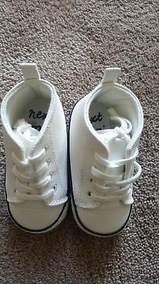 Baby Boy Next White trainers