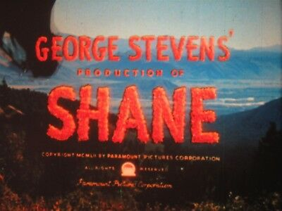 16mm Shane 1953 Paramount's digest version 61min color