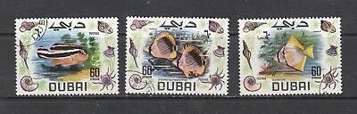 DUBAI FISH STAMPS. Rfno.1396.
