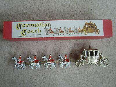 Vintage 1953 Lesney Coronation Coach - Large Scale with Box - Great Condition