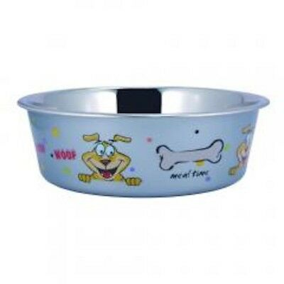 Boomer N Chaser Sneaky Dog Design Stainless Steel Fusion Bowl Small