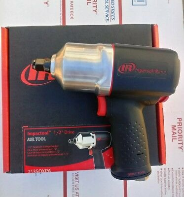 """New! Ingersoll Rand 1/2"""" drive Heavy Duty Quiet Air Impact Wrench IR #2135QXPA"""