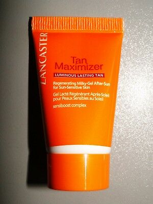 NEU ! LANCASTER TAN MAXIMIZER Regenerating milky-gel After Sun 15 ml