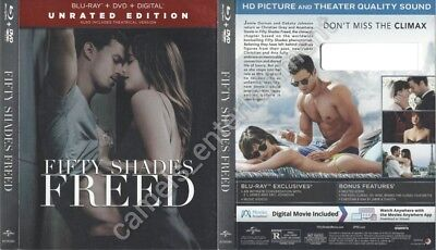 Fifty Shades Freed (Blu-ray SLIPCOVER ONLY * SLIPCOVER ONLY)