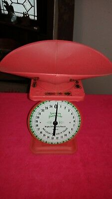 Vintage American Family Scale Model 1906 25 lb. by Ounces Scale Pristine!!!