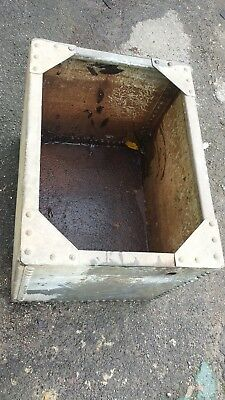 Galvanised garden sink basin ornament size L26w20d20inches