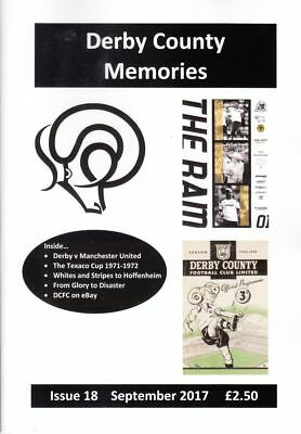 Derby County Memories magazine - issues 2-21
