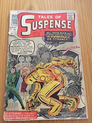 TALES OF SUSPENSE #41, 3rd Iron Man Appearance 1963 Silver Age
