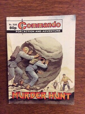 Commando Comics  No 3549, Murder Hunt.  printed 2002