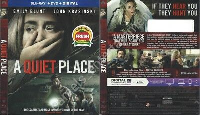 A Quiet Place (Blu-ray SLIPCOVER ONLY * SLIPCOVER ONLY)