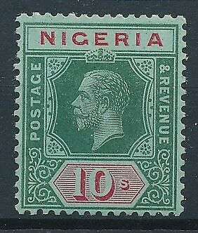 [34296] Nigeria 1910/11 Good stamp Watermak multiple CA Very Fine MH