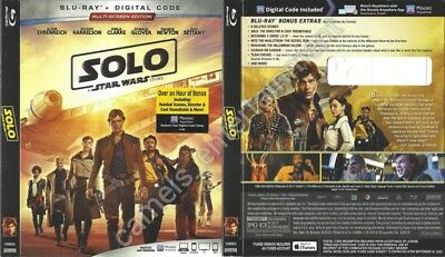 Solo: A Star Wars Story (Blu-ray SLIPCOVER ONLY * SLIPCOVER ONLY)