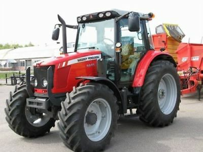 "MASSEY FERGUSON MF6400 SERIES TRACTOR WORKSHOP REPAIR MANUALsent as a ""Download"""