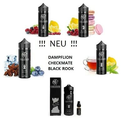 DAMPFLION - 3 x 10 ml CHECKMATE Black Knight / Black Queen / Black King wählbar