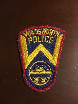 Illinois, Wadsworth obsolete police patch HTF