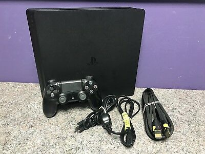 Sony Playstation 4 Slim Console 500gb Black Working