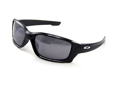 cdf10fc2c6 Oakley Straight Link OO9331-01 61mm Sunglasses Gloss Black Frame  Grey  Lenses