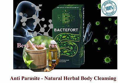 BACTEFORT Anti parasite Natural Herbal Body Cleansing 30ml- 100% original