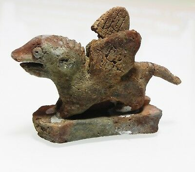 Zurqieh -As9980- Ancient Egypt. Late Roman / Byzantine Terracotta Griffin