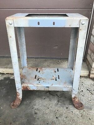 """Delta Rockwell 14"""" Band Saw Stand Dome Bolted Flared Leg 10"""" Tilt Table Saw"""
