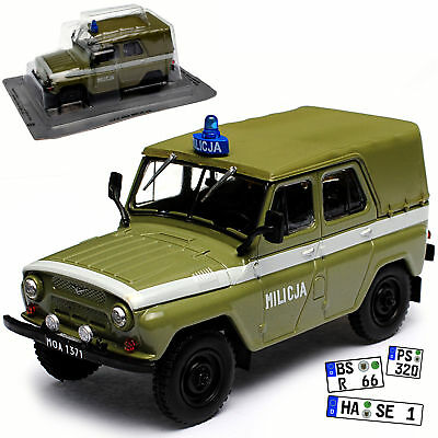 auto modell uaz 469 milit r jeep 1 43 sammlung oldtimer. Black Bedroom Furniture Sets. Home Design Ideas