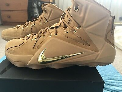 1151259f50f NIKE LEBRON 12 XII Ext Wheat Men Size 10 -  169.99