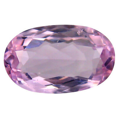 3.35 ct AAA Eye-popping Oval Shape (12 x 7 mm) Pink Kunzite Natural Gemstone