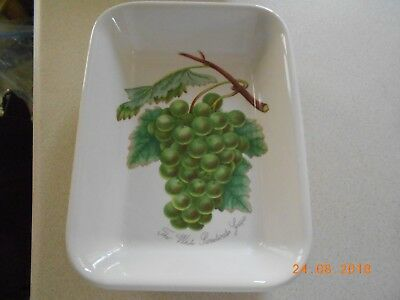 Portmeirion Pomona Small Oblong Cooking Dish - The Whitewater Sweet Grape