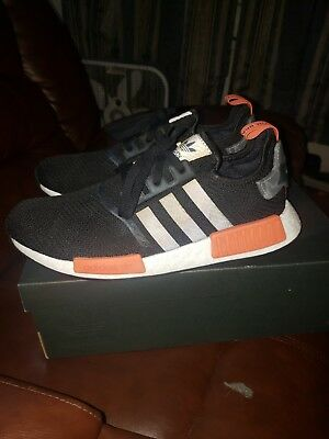 e993eb9af ADIDAS NMD R1 BLACK Raw Amber Aq0882 Mens 12 New DS -  100.00
