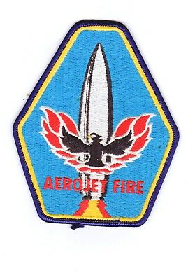 Industrial Fire Dept Patch Aerojet Defense Company