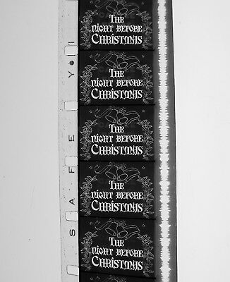 "16mm ""THE NIGHT BEFORE CHRISTMAS"" 1946 CASTLE FILMS SHORT"