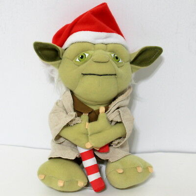 Star Wars Santa Talking Yoda Christmas Plush