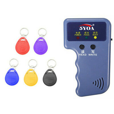 New Portable Handheld Card Writer/Copier Duplicator for All 125KHz RFID Cards