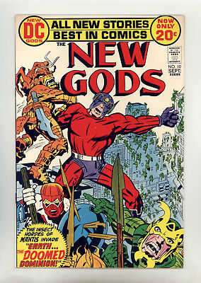 New Gods #10 VF+ Kirby, Royer, Orion, Lightray, 2nd Forager, Mantis