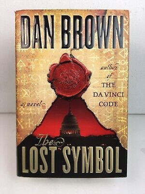 THE LOST SYMBOL - DAN BROWN 1st Edition 2009 Hardcover