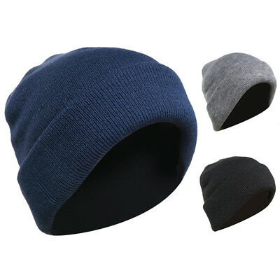 faec81951e7d2d Casaba Warm Winter Beanie Hat Cap for Men Women Toboggan Cuffed Knit Slouch  Ski